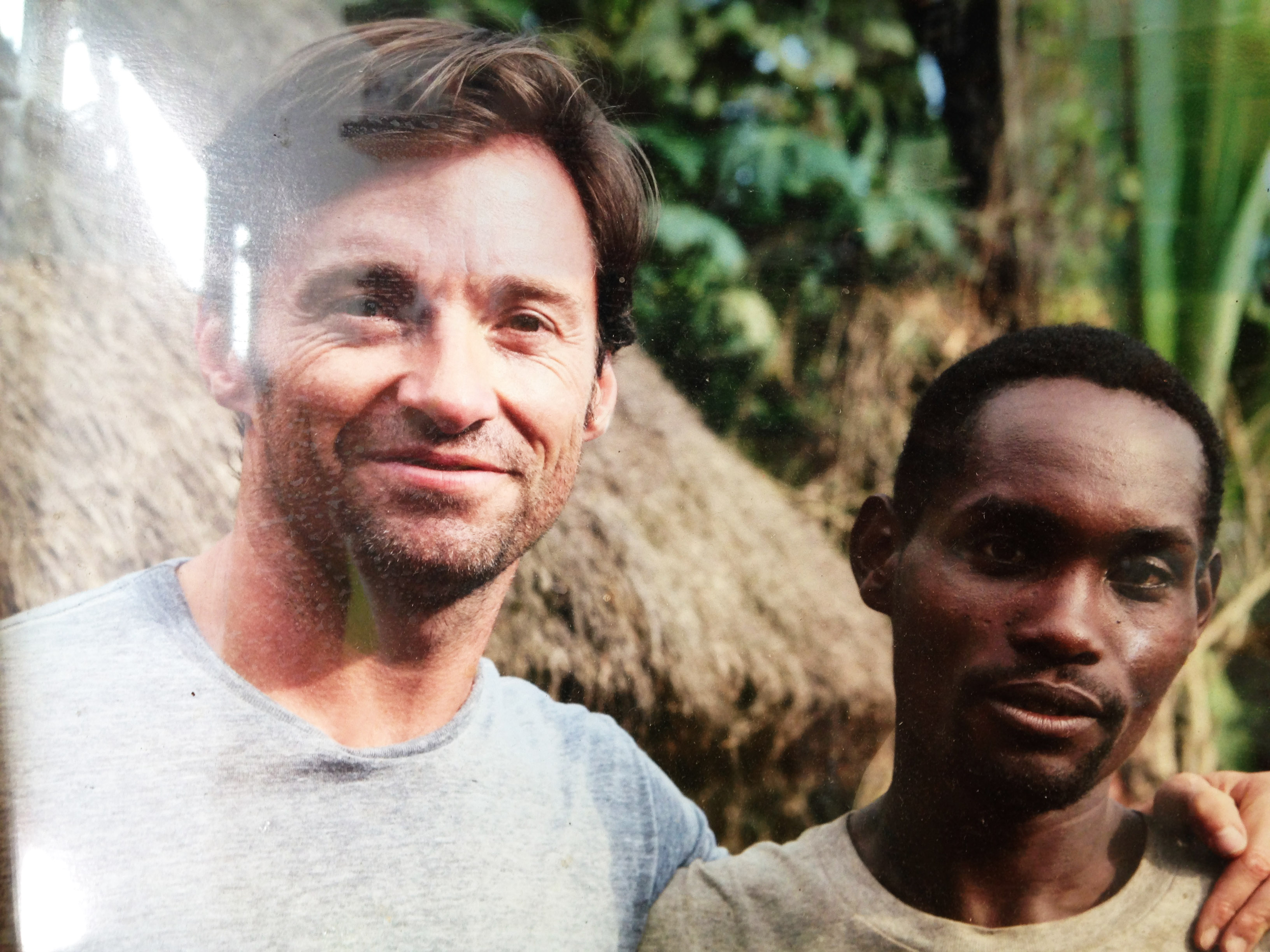Hugh Jackman for Laughing Man Coffee