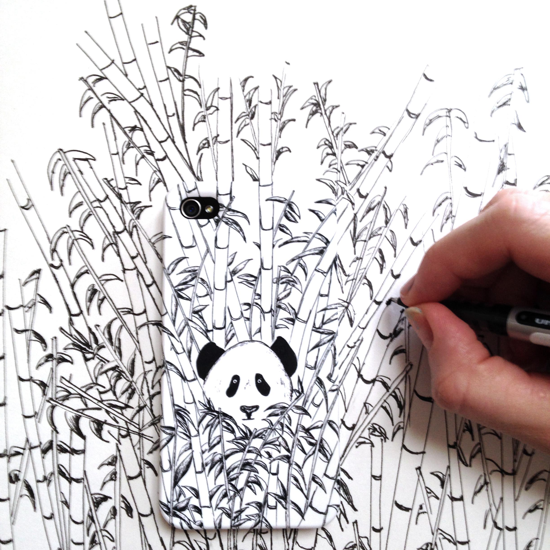 Kelsey Montague panda case