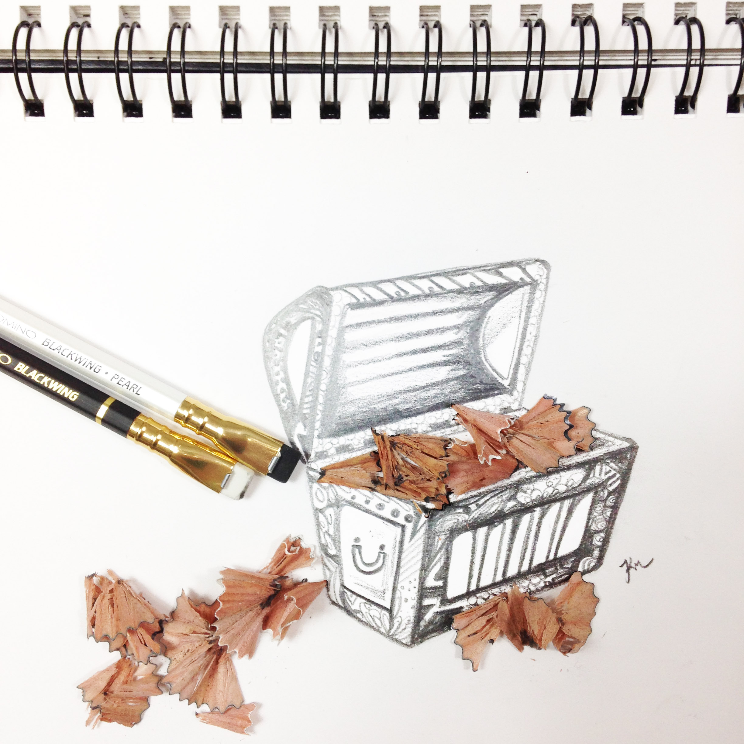 Blackwing Pencil 3 by Kelsey Montague Art.jpg