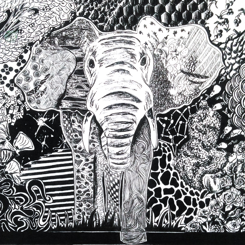 Elephant by KM