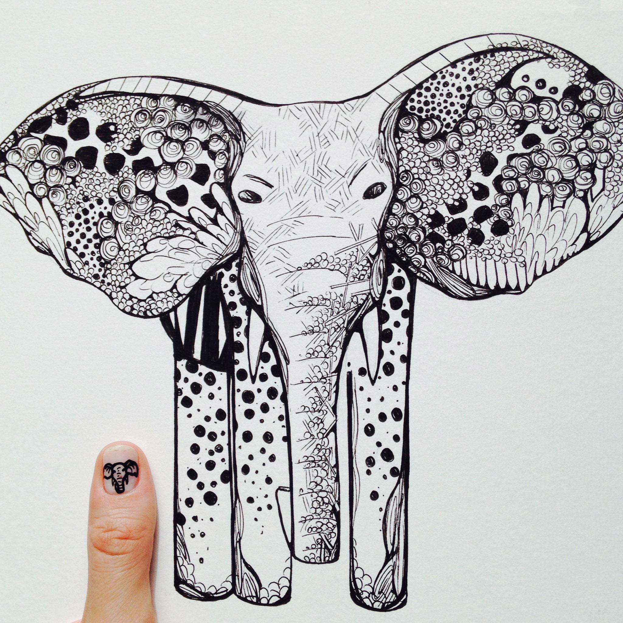 Kelsey Montague Art for Scratch Nails 6