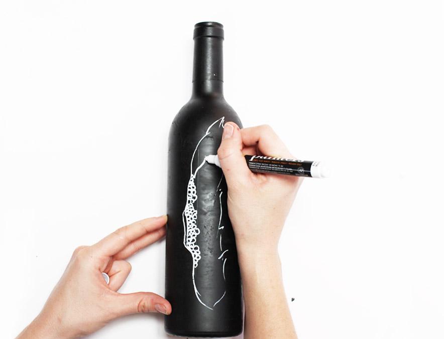 Wine Bottle 7