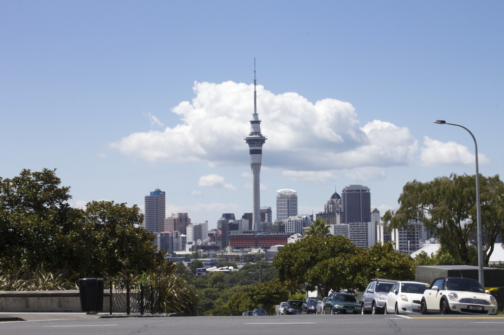 Auckland Skyline: by Courtney Montague
