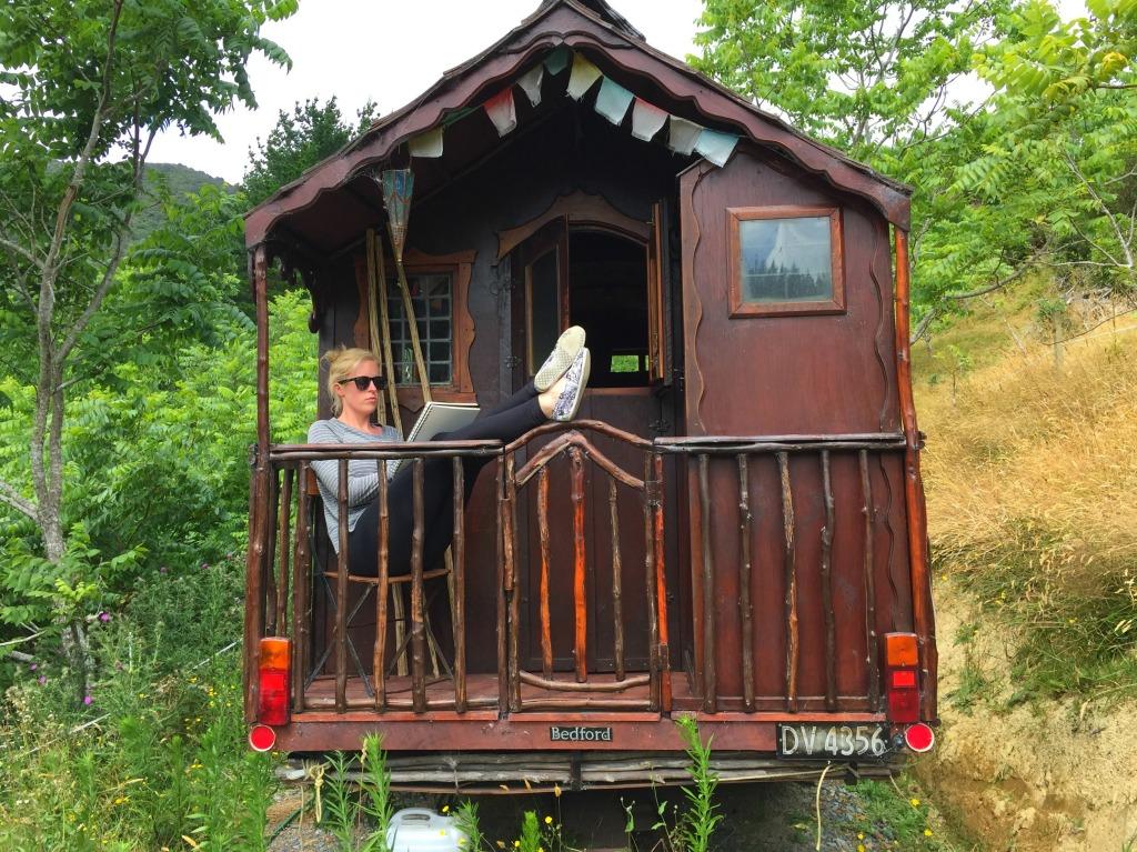 Gypsy Caravan - Wellington New Zealand (with Kelsey Montague)