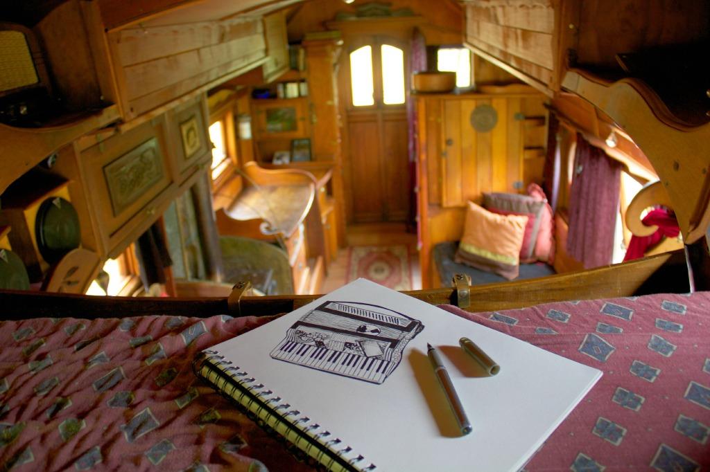 Gypsy Caravan- Wellington. Kelsey Montague Art