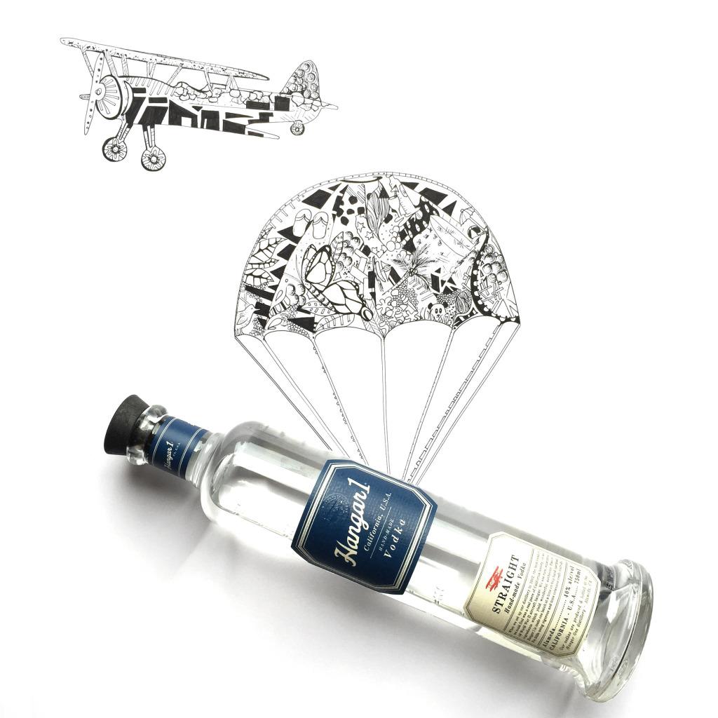 Hangar Vodka bottle 1  (2)