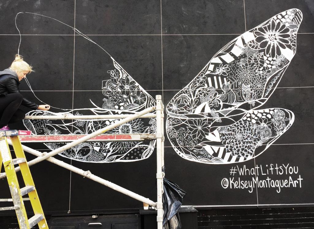 Kelsey Montague Art dragonfly wings