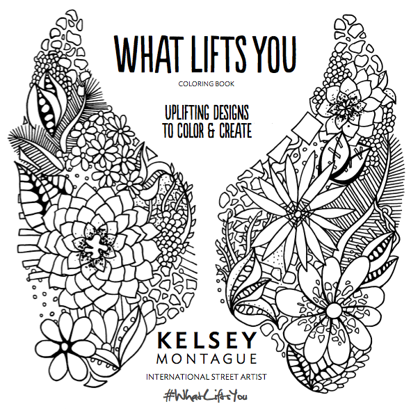 Coloring Book Title Page! | Kelsey Montague Art
