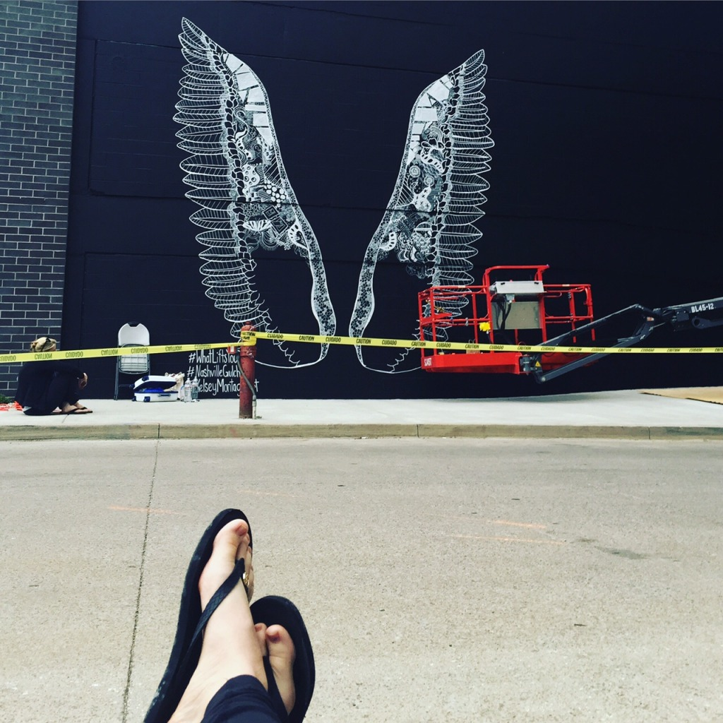 Nashville Whatliftsyou Wings Kelsey Montague Art